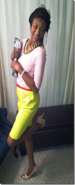 Yellow Skirt (3)