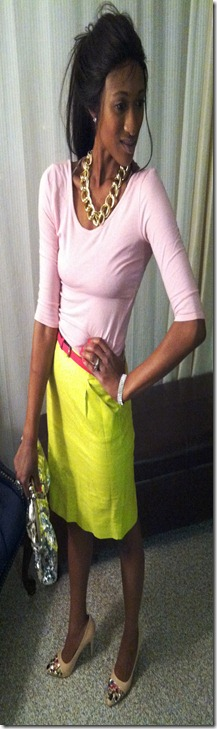 Yellow Skirt (4)