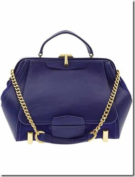Blue Satchel