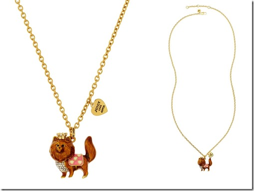 Juicy Couture Pomeranian Necklace 2