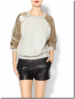 Sequin Sweatshirt Piperlime